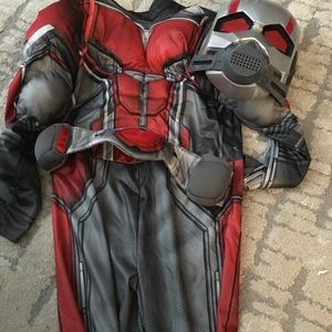 Antman kids costume 4-6x